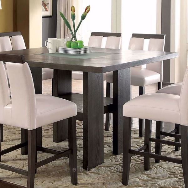 Furniture of America - Luminar Ii Counter Height Dining Table