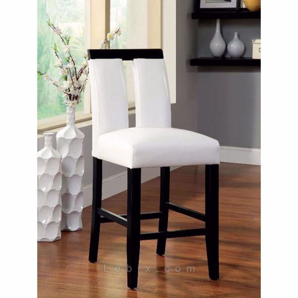 Furniture of America - Luminar Ii Counter Height Chair
