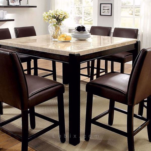 Furniture of America - Gladstone Ii Counter Height Dining Table