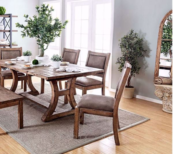 Furniture of America - Gianna Dining Table Set