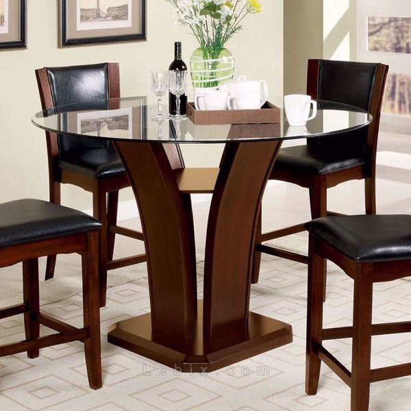 Furniture of America - Manhattan Iii Counter Height Dining Table