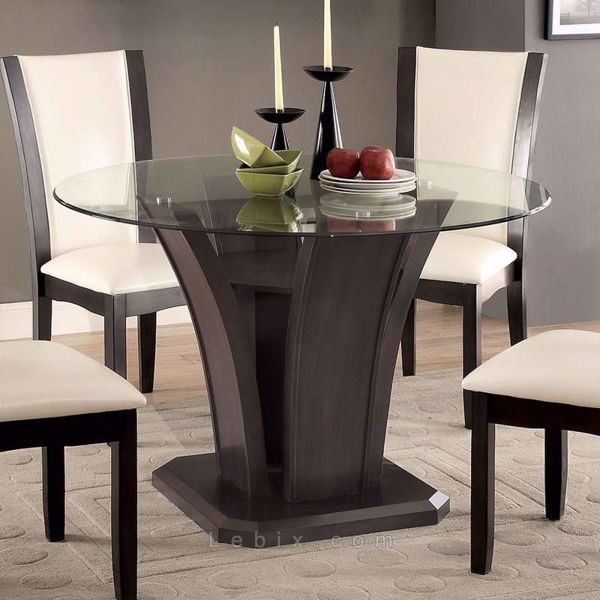 Furniture of America - Manhattan I Round Dining Table