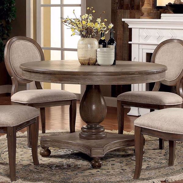 Furniture of America - Kathryn Round Dining Table