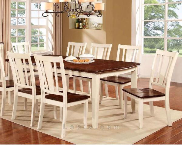 Furniture of America - Dover Dining Table Set