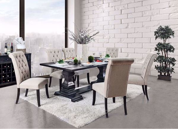 Furniture of America - Nerissa Dining Table Set