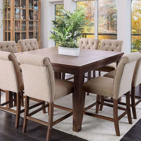Furniture of America - Sania Iii Counter Height Dining Table