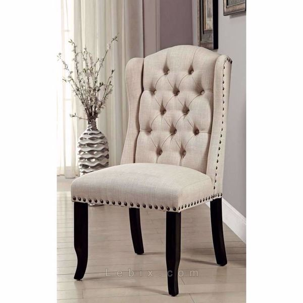 Furniture of America - Sania I Wingback Chair