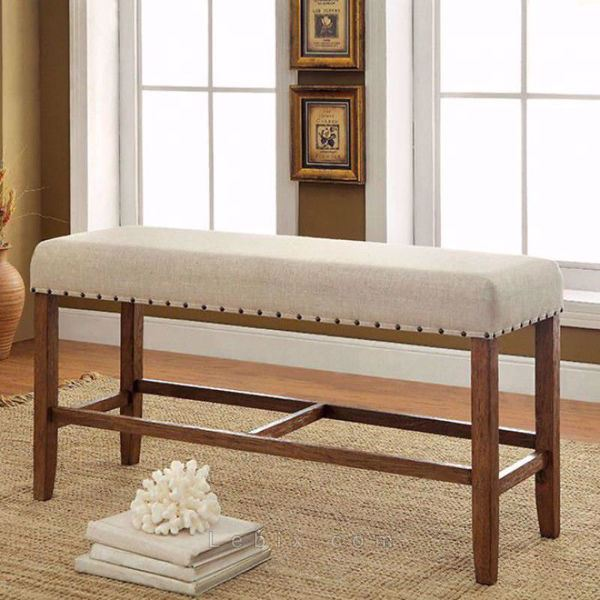 Furniture of America - Sania Counter Height Bench