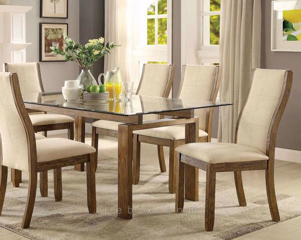 Furniture of America - Onway Dining Table Set