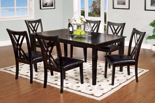 Furniture of America - Springhill Dining Table Set
