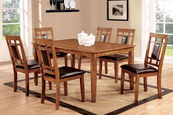 Furniture of America - Freeman I Dining Table Set
