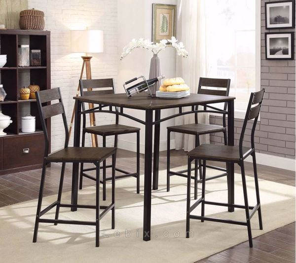 Furniture of America - Westport Counter Height Table Set