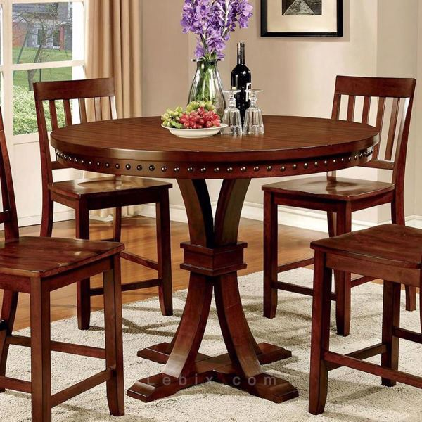 Furniture of America - Foster Ii Counter Height Dining Table
