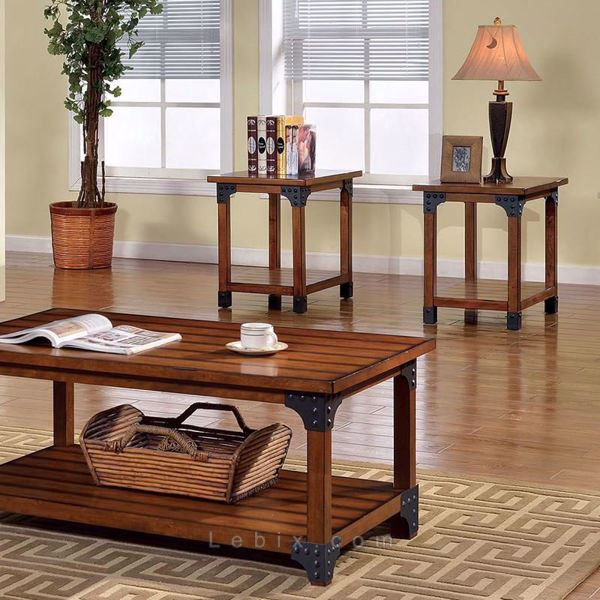 Furniture of America - Bozeman Coffee Table Set