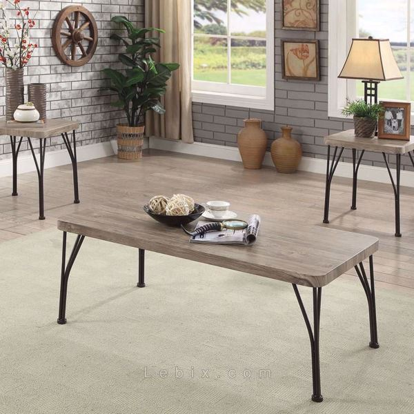 Furniture of America - Majorca Coffee Table Set