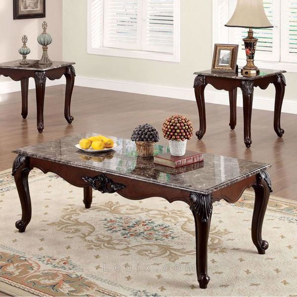 Furniture of America - Colchester Coffee Table Set
