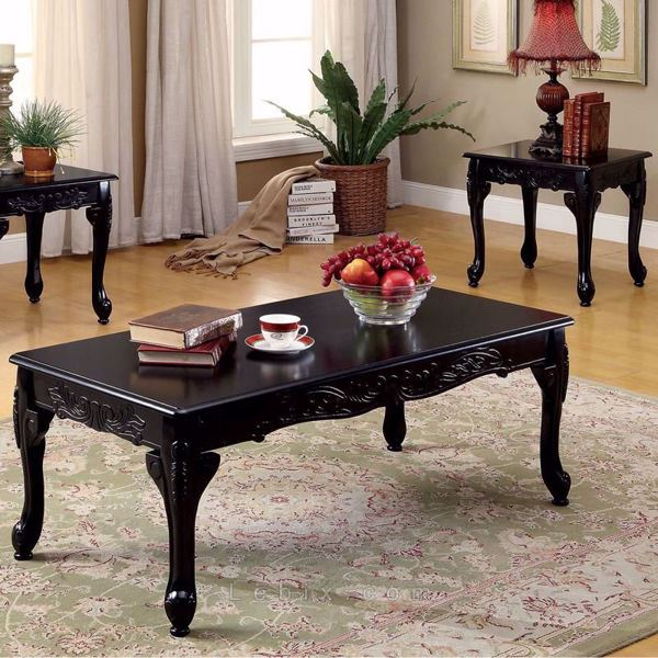 Furniture of America - Cheshire Coffee Table Set