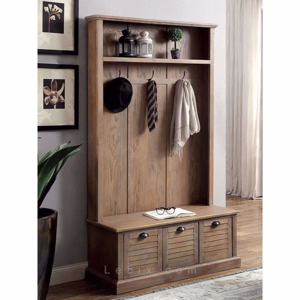Furniture of America - Wineglow Hallway Cabinet
