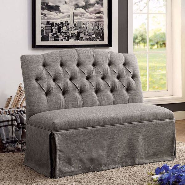 Furniture of America - Payson I Loveseat Bench