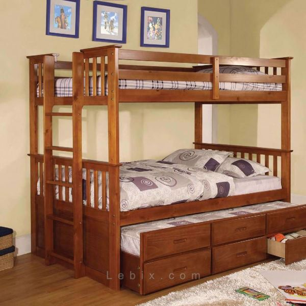 Furniture of America - University Ii Kids Bunk Bed