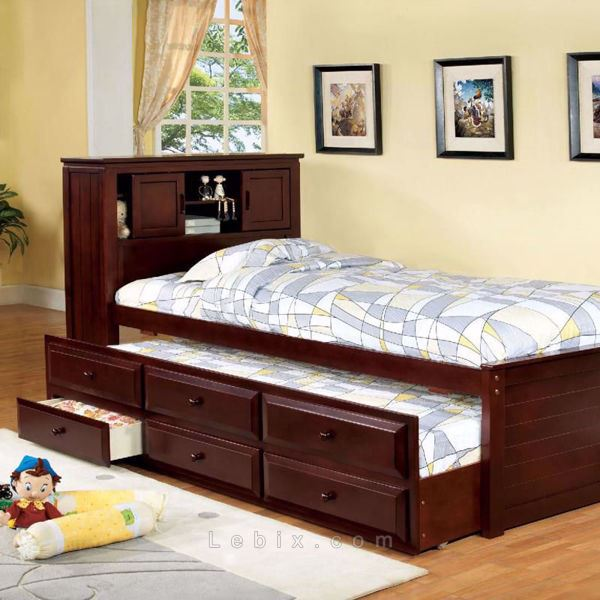 Furniture of America - South Land Kids Captain Bed