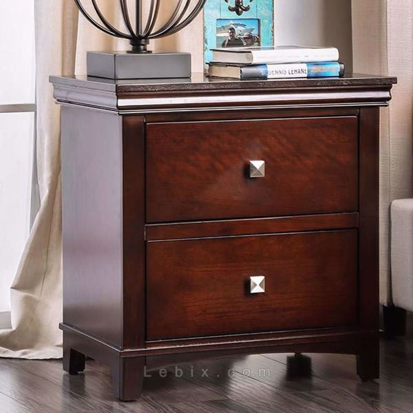 Furniture of America - Spruce Nightstand