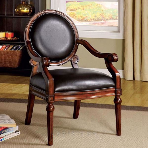 Furniture of America - West Point Accent Chair