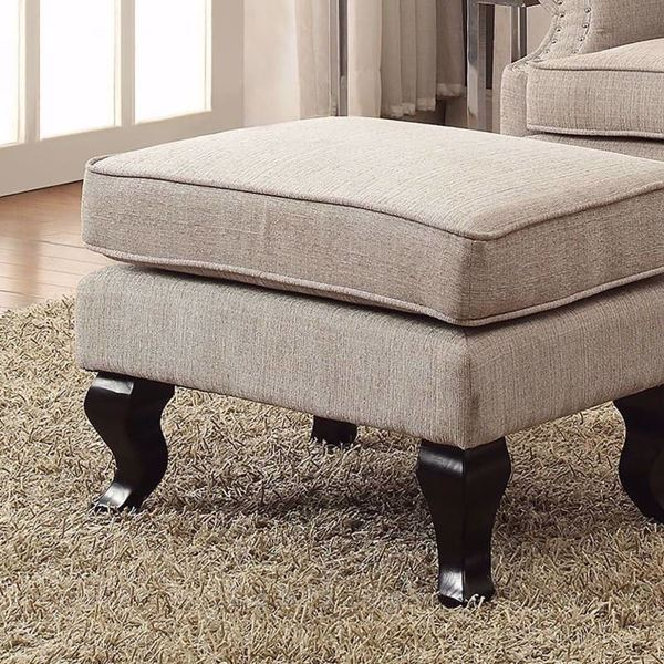 Furniture of America - Willow Ottoman