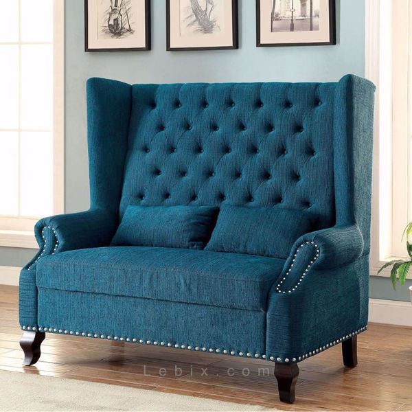 Furniture of America - Alcacer Loveseat Bench