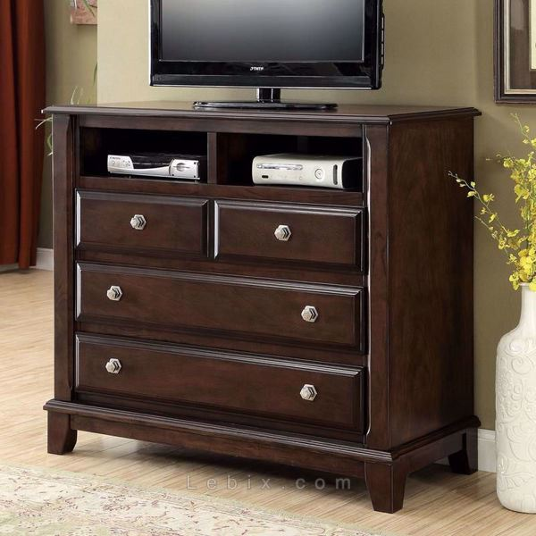 Furniture of America - Litchville Media Chest