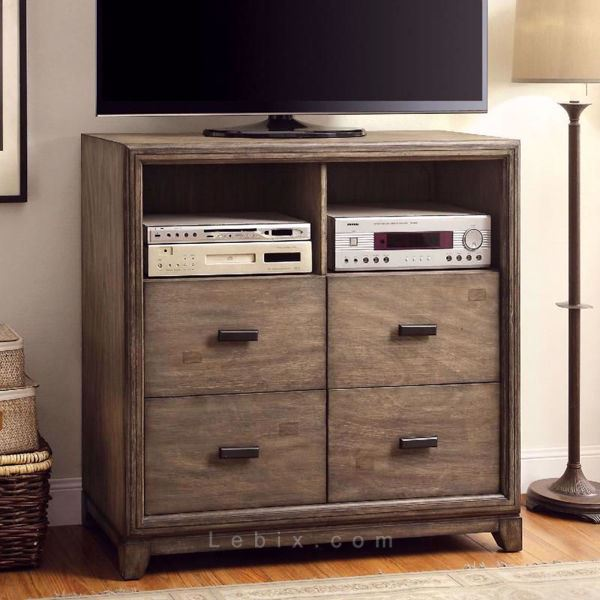 Furniture of America - Antler Media Chest