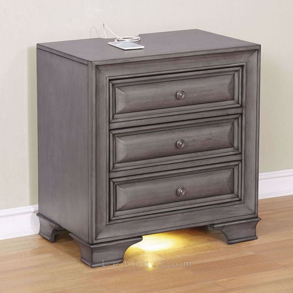 Furniture of America - Brandt Nightstand