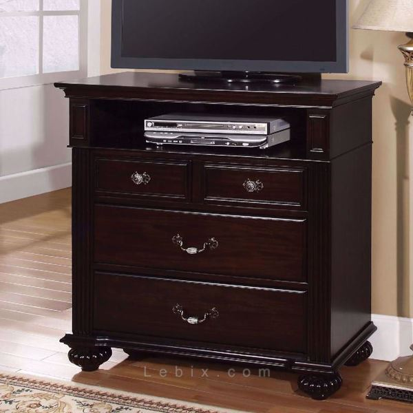 Furniture of America - Syracuse Media Chest