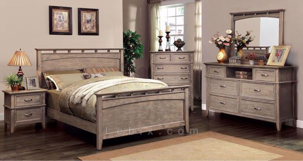 Furniture of America - Loxley Queen Bedroom Set