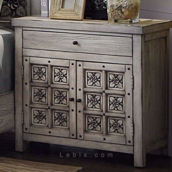 Furniture of America - Pantaleon Nightstand