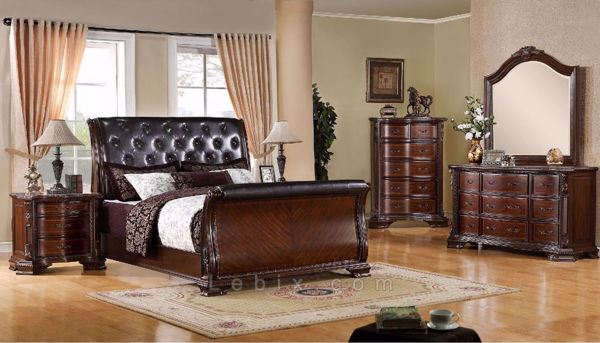 Furniture of America - South Yorkshire Queen Bedroom Set