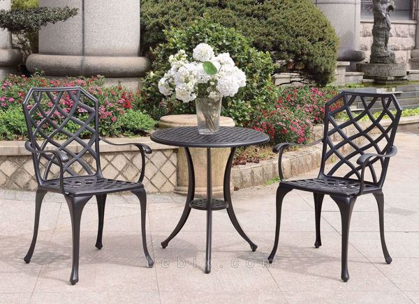 Furniture of America - Crary Outdoor Bistro Set