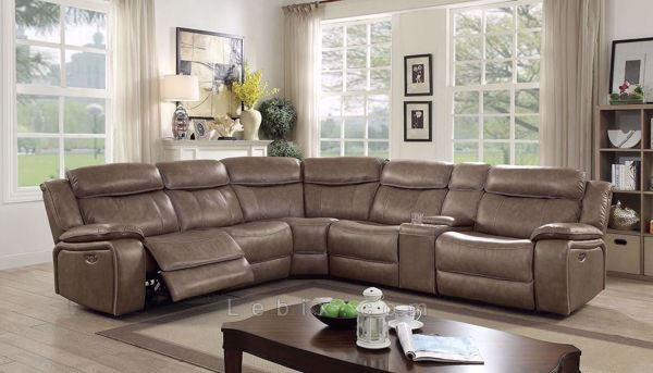 Furniture of America - Page Sectional
